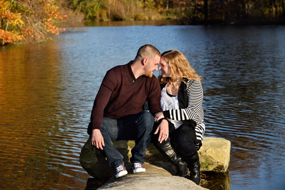 best engagement photographers akron ohio