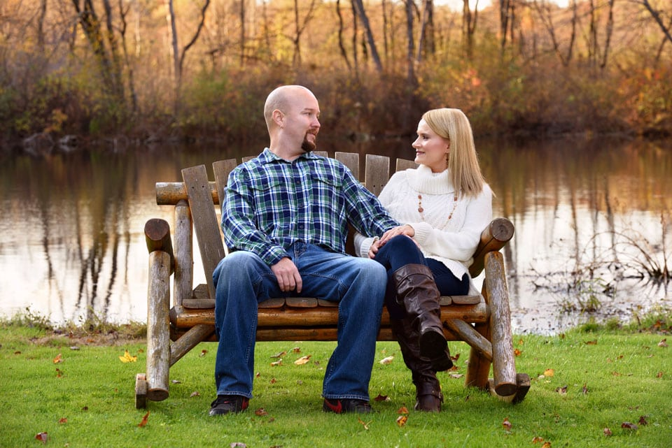 green ohio engagement wedding photography