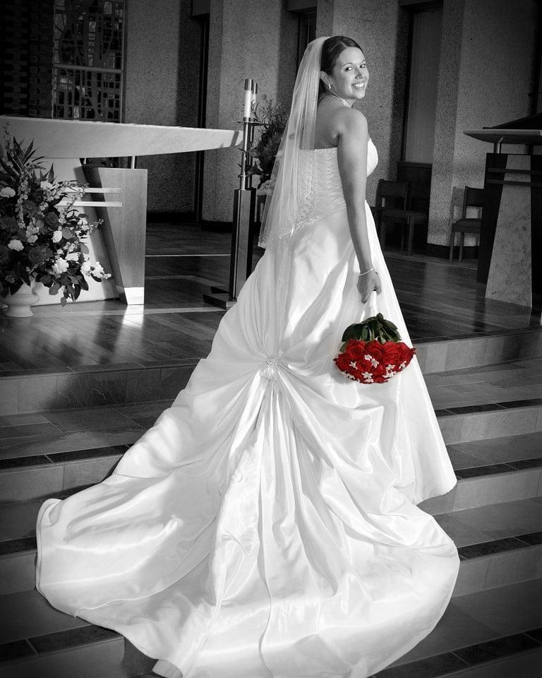 saint joseph church strongsville ohio wedding ceremony