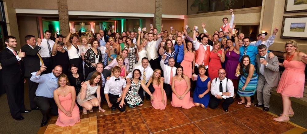 fairlawn ohio wedding reception image