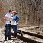 kent ohio engagement pictures