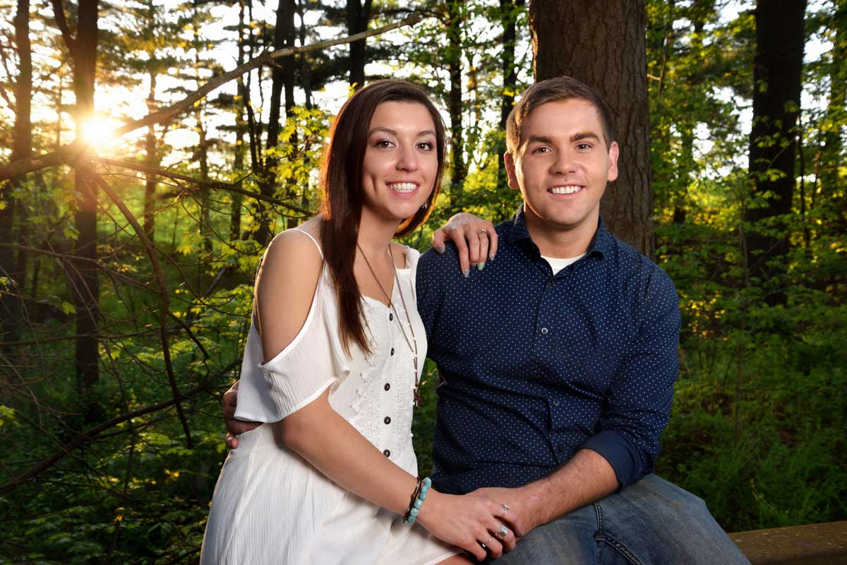 richfield ohio engagment photography session