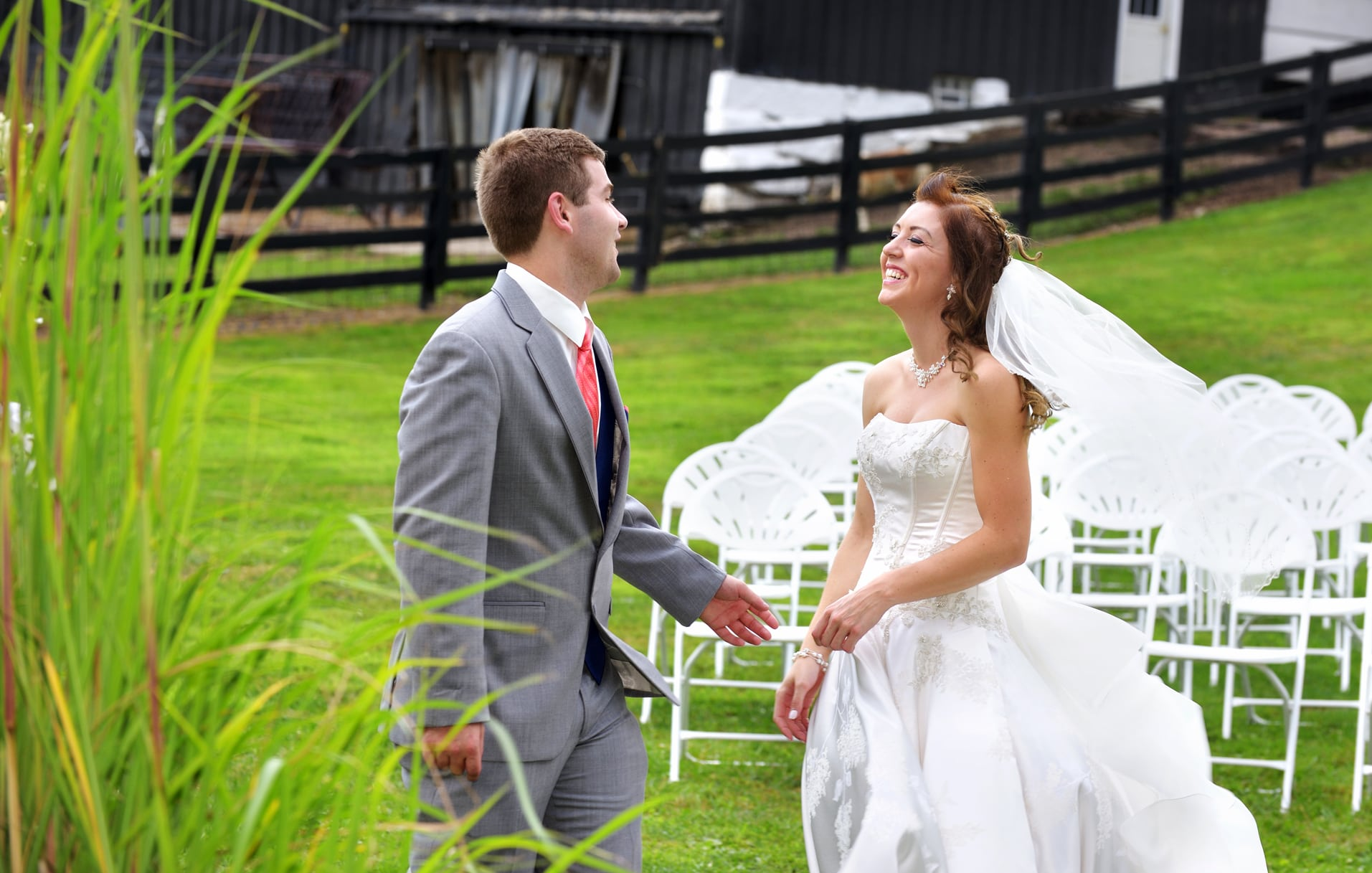 first look wedding photography copley ohio